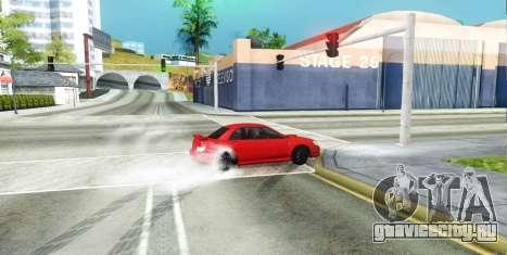 Subaru Impreza WRX Hawkeye Baby Driver v.1 для GTA San Andreas вид снизу