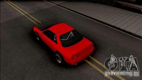 Nissan Skyline R32 Drag v2 для GTA San Andreas вид сзади