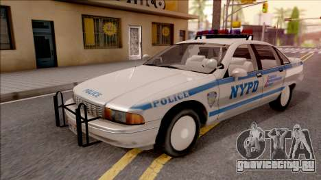 Chevrolet Caprice Police NYPD для GTA San Andreas
