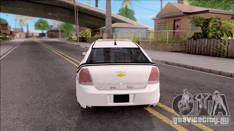 Chevrolet Caprice 2013 Ames Police Department для GTA San Andreas вид сзади слева