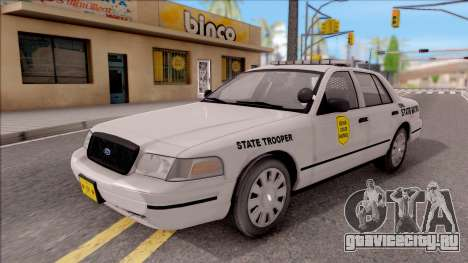 Ford Crown Victoria 2007 Iowa State Patrol для GTA San Andreas