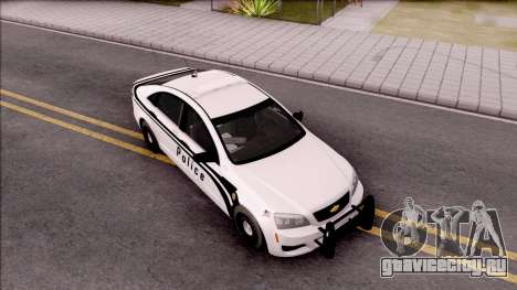Chevrolet Caprice 2013 Ames Police Department для GTA San Andreas вид справа