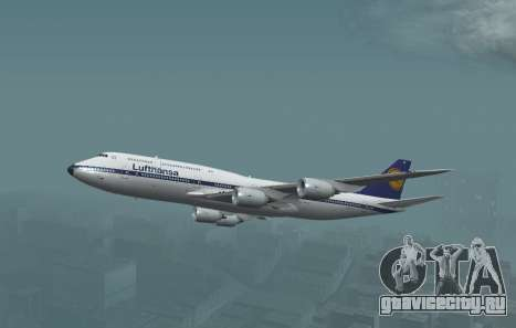 Авиакомпания Lufthansa 747-8и Ретро-ливрее для GTA San Andreas