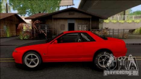 Nissan Skyline R32 Drag v2 для GTA San Andreas вид слева