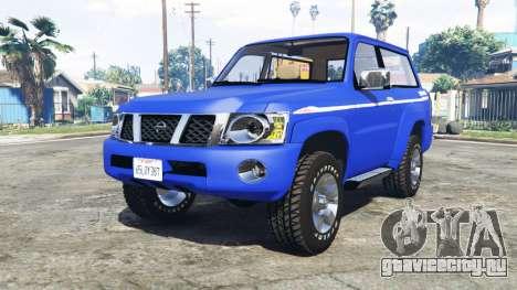 Nissan Patrol GL VTC (Y61) 2016 v1.1 [add-on] для GTA 5