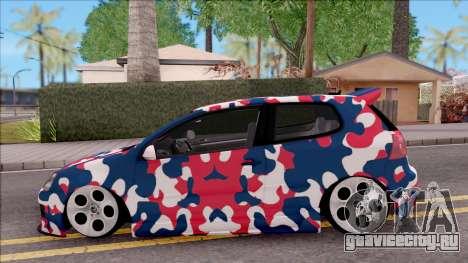 Volkswagen Golf BK GARAGE для GTA San Andreas вид слева