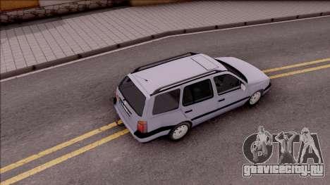 Volkswagen Golf Mk3 Variant для GTA San Andreas вид сзади