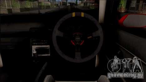 Nissan Skyline R32 Drag v2 для GTA San Andreas вид изнутри