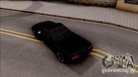 Nissan Skyline R32 Pickup v2 для GTA San Andreas вид сзади