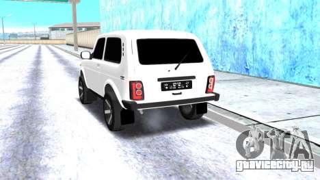 VAZ 2121 Armenian для GTA San Andreas вид справа
