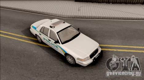 Ford Crown Victoria 2007 Altoona PD для GTA San Andreas вид справа