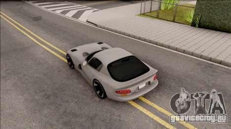 Dodge Viper GTS для GTA San Andreas