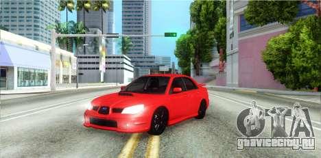 Subaru Impreza WRX Hawkeye Baby Driver v.1 для GTA San Andreas