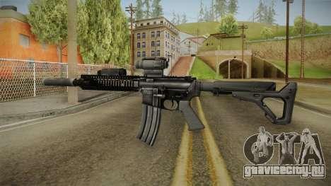 MK18 SAS Rifle для GTA San Andreas второй скриншот