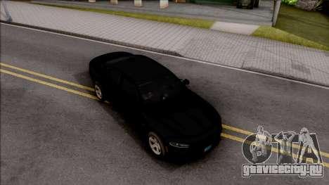 Dodge Charger Unmarked 2015 для GTA San Andreas вид справа