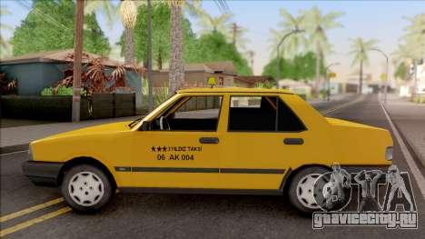 Tofas Sahin Taxi 1999 v2 для GTA San Andreas вид слева