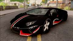 Lamborghini Aventador Shark New Edition Black