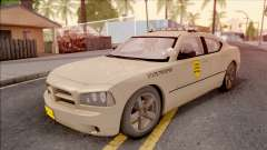 Dodge Charger Gold 2007 Iowa State Patrol для GTA San Andreas