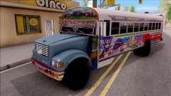 Diablo Rojo Panama Blue Bird для GTA San Andreas
