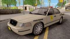 Ford Crown Victoria 2003 Iowa State Patrol для GTA San Andreas