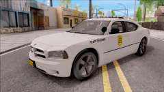 Dodge Charger Silver 2007 Iowa State Patrol
