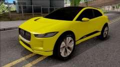 Jaguar I-Pace 2018 для GTA San Andreas
