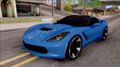 Chevrolet Corvette Stingray C7 2014 для GTA San Andreas