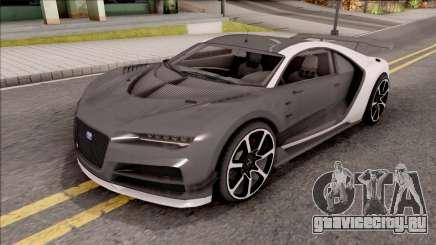 Truffade Nero from GTA V для GTA San Andreas