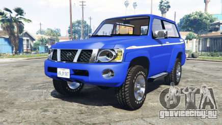 Nissan Patrol GL VTC (Y61) 2016 v1.1 [add-on] для GTA 5