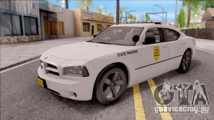 Dodge Charger Silver 2007 Iowa State Patrol для GTA San Andreas