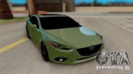Mazda 3 Sedan 2014 для GTA San Andreas