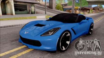 Chevrolet Corvette Stingray C7 2014 для GTA San Andreas