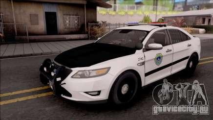 Ford Taurus 2011 Des Moines PD для GTA San Andreas
