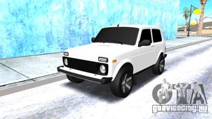 VAZ 2121 Armenian белый для GTA San Andreas