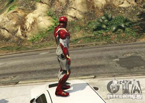 Iron Man Mark 47 1.3 для GTA 5 второй скриншот