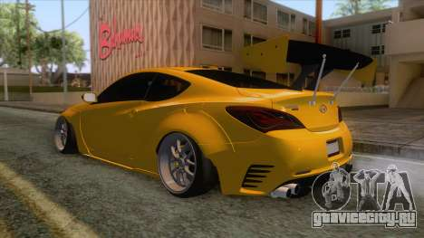 Hyundai Genesis GT Sport Concept 2013 для GTA San Andreas