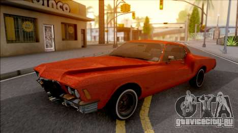 Buick Riviera 1972 Boattail Lowrider Red для GTA San Andreas