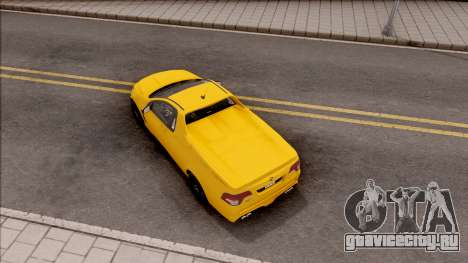 HSV Limited Edition GEN-F GTS Maloo v1 2014 для GTA San Andreas вид сзади