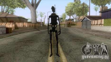 Star Wars - Shadow Droid Skin для GTA San Andreas второй скриншот