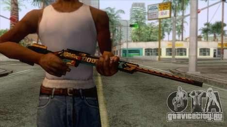 Warface - Orsis T-5000 для GTA San Andreas третий скриншот
