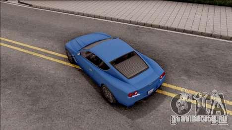 GTA IV Dewbauchee Super GT IVF для GTA San Andreas