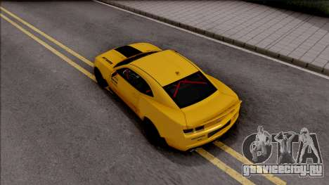 Chevrolet Camaro ZL1 Ngasal Works Kit для GTA San Andreas вид сзади