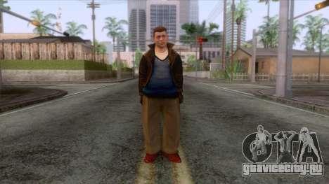 Bruised Greasers Skin 1 для GTA San Andreas второй скриншот