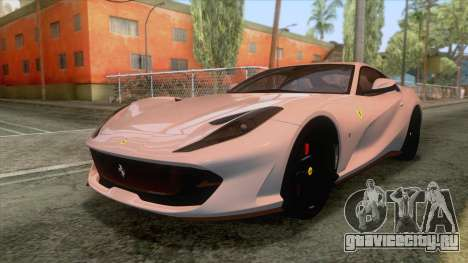 Ferrari 812 Superfast 2017 v2 для GTA San Andreas