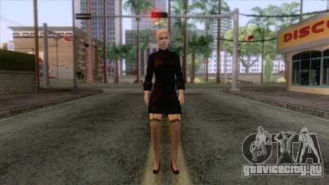 Female Sweater One Piece v2 для GTA San Andreas