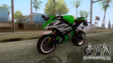 Kawasaki Ninja ZX-10R Ruff Ryder для GTA San Andreas