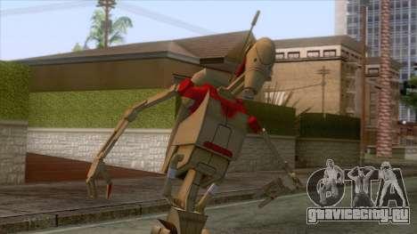 Star Wars - Droid Security Skin для GTA San Andreas