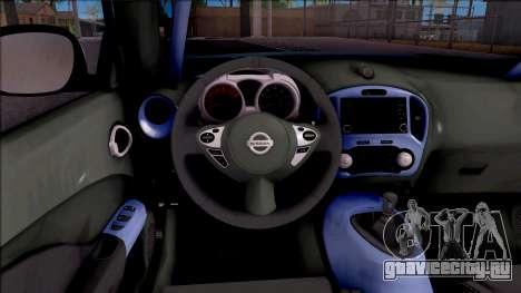 Nissan Juke Nismo RS 2014 Rocket BOUNNY Custom для GTA San Andreas вид сзади