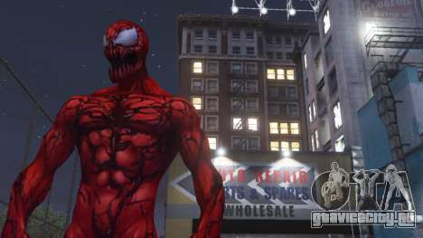 Carnage (Marvel Future Fight) [ADD-ON] 2.0 для GTA 5