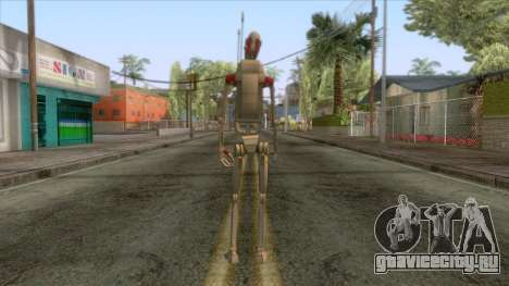 Star Wars - Droid Security Skin для GTA San Andreas третий скриншот